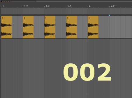 Ableton Live Tips 002 アレンジメントビューで役立つ3つのショートカット