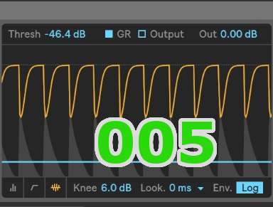 Ableton Live Tips 005 Sidechain Compressorの設定